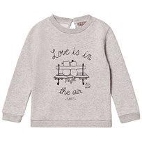 Emile et Ida Gris Chine Love Is In The Air Sweater Gris Chine (Chalove)