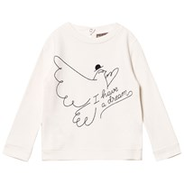 Emile et Ida I Have A Dream Sweater Ecru Ecru (Dream)