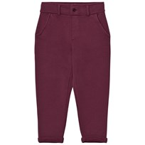Emile et Ida Sweatpants Prune and Ocre Prune
