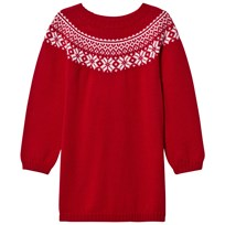 Lillelam Winter Dress Red Rød