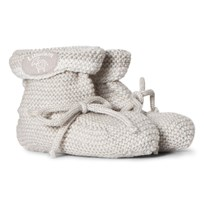 Lillelam Seamless Slippers Light Grey Lysegrå
