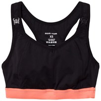 Mom2Mom Sport Nursing Bra Black/Peach Black