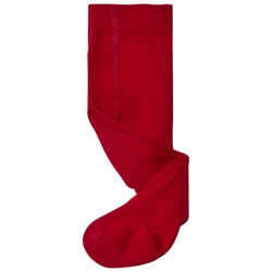 Lillelam Wool Tights Red