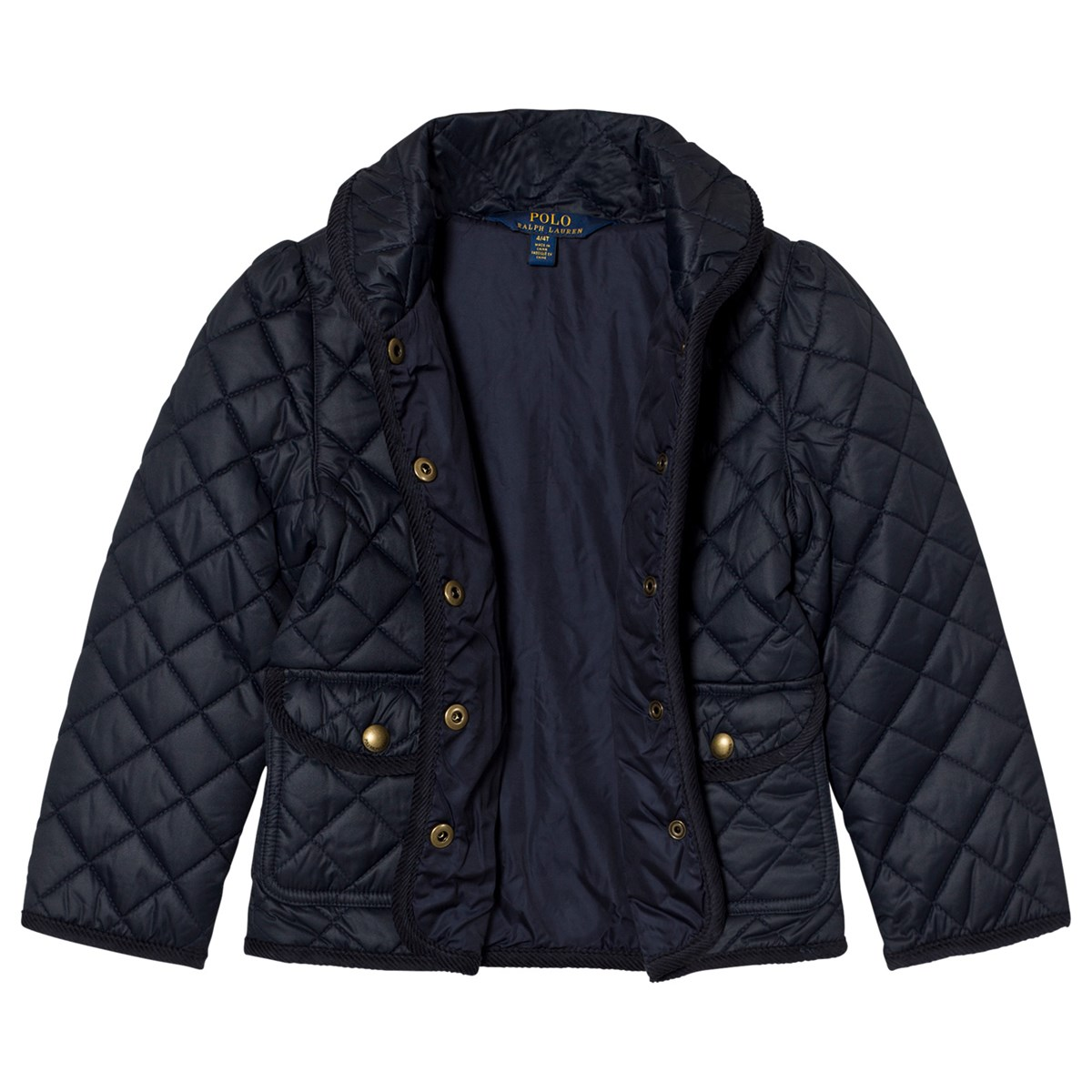 0b68915ca266 Ralph Lauren - Navy Quilted Barn Jacket - Babyshop.com