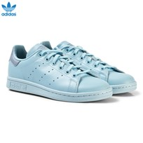 adidas Originals Blue Junior Stan Smith Trainers ICEY BLUE F17/ICEY BLUE F17/TACTILE BLUE S17