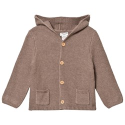 Cyrillus Knitted Cardigan Taupe Marl