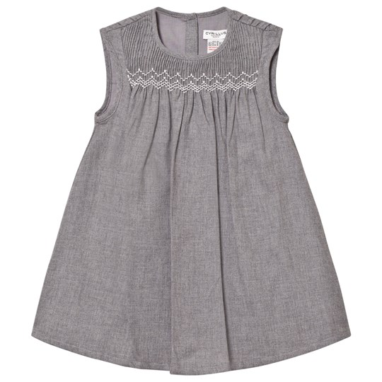 Cyrillus Grey Marl Flannel Dress 6443