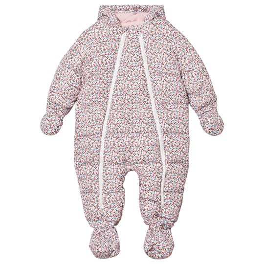 Cyrillus Pink Floral Coverall 6686