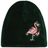 Tao&friends Flamingon Velvet Beanie Green Green
