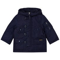 Ralph Lauren Navy Hooded Down Jacket 002