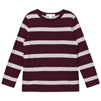 Burberry Burgundy/Grey Graham Tee BURGUNDY/GRY MELANGE