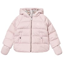 Burberry Rilla Down Hooded Puffer Jacket Powder Pink Powder Pink