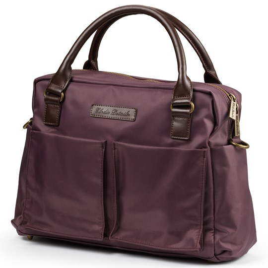 Elodie Details Changing Bag Plum Love Lila