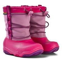 Crocs Swift Water Waterproof Boot K Party Pink/Candy Pink Party Pink/Candy Pink