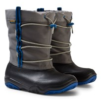 Crocs Swiftwater Waterproof Boot Black/Blue Jean Black/Blue Jean