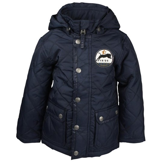 Mexx Boys Quilted Jacket Blue