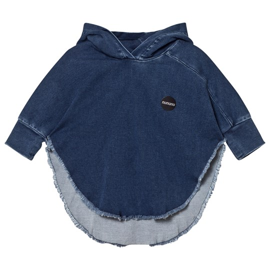 NUNUNU Denim Poncho Denim Denim