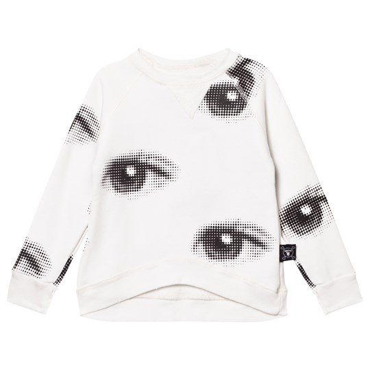 NUNUNU Eye Sweatshirt White
