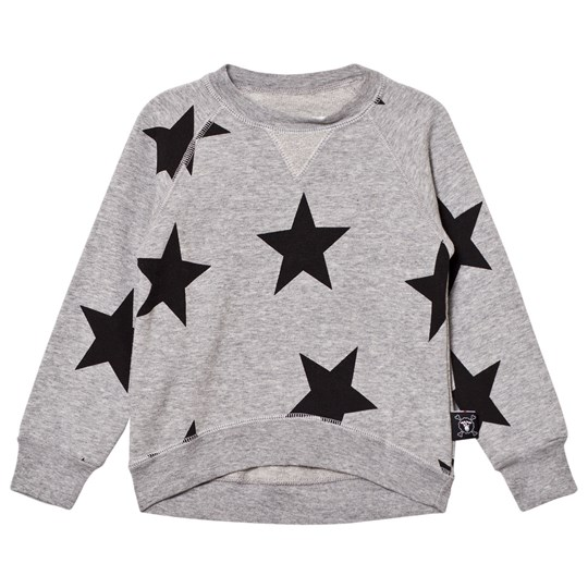 NUNUNU Star Sweatshirt Heather Grey Grey