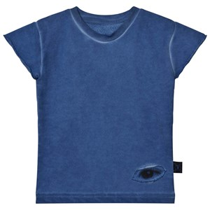 NUNUNU Sleeveless Sweatshirt Dirty Blue 2-3 år