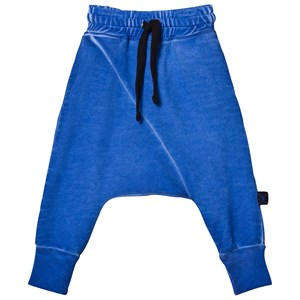 NUNUNU Diagonal Baggy Pants Dirty Blue 2-3 år