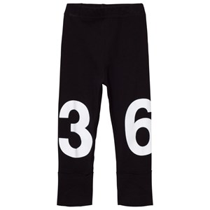 Image of NUNUNU Numbered Leggings Black 4-5 år (3056052905)