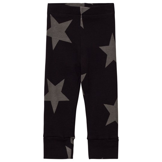 NUNUNU Star Leggings Black Black
