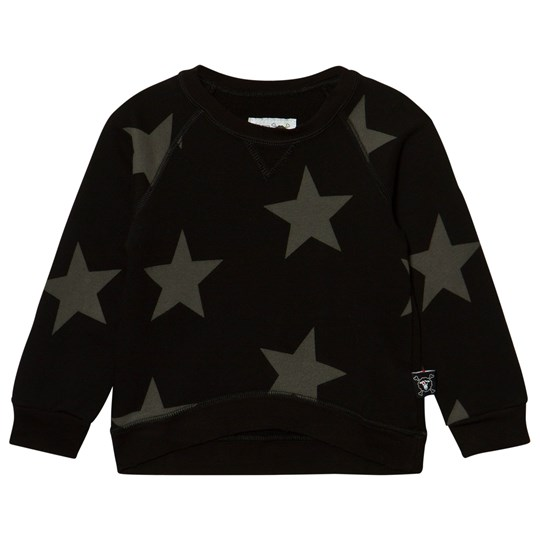 NUNUNU Star Sweatshirt Black Black
