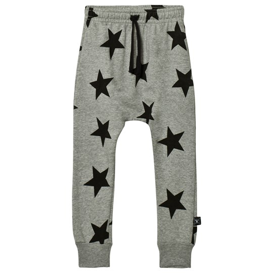NUNUNU Star Baggy Pants Heather Grey Grey