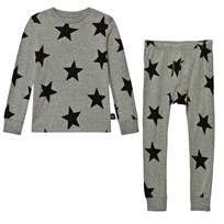 NUNUNU Star Loungewear Heather Grey Grey
