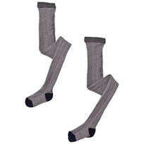 FUB 2 Pack Tights Grey Grey