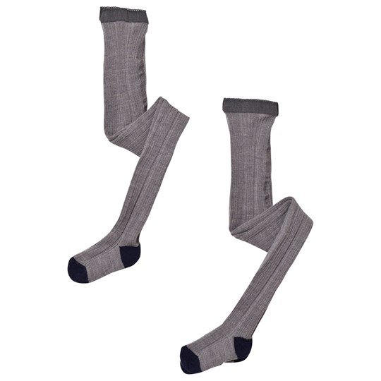 FUB 2 Pack Tights Grey Black