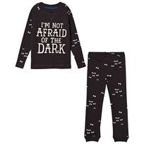 Tom Joule Dark Grey Glow in the Dark Eye Pyjamas DARK GREY EYES