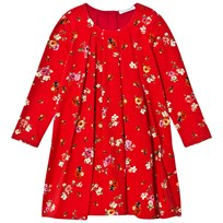 Dolce & Gabbana Red Floral Lady Bird Dress HRE95