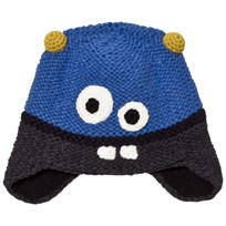 Barts Black and Blue Monter Joey Earflap 04 ROYAL BLUE