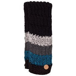 Barts Black and Blue Stripes Wilhelm Scarf