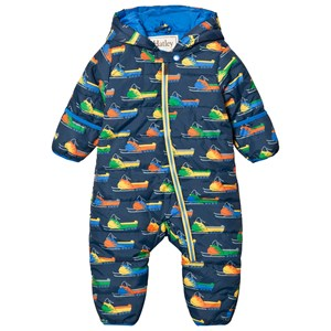 Image of Hatley Navy Snowmobile Puffer Coverall 9-12 months (2757004089)