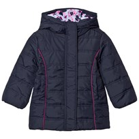 Hatley Navy Quilted Puffer Coat Navy