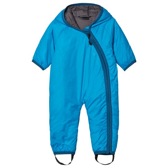 Isbjörn Of Sweden Frost Baby Coverall Turquoise Turquoise