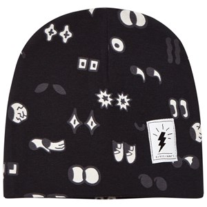 Image of Civiliants Allover Print Jersey Beanie Black 44/46 cm (2743689569)