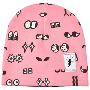 Image of Civiliants Allover Print Jersey Beanie Pink 48/50 cm (2743689583)