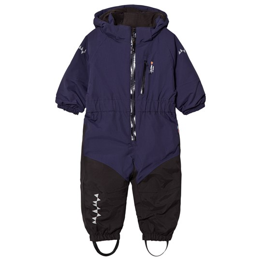 Isbjörn Of Sweden Penguin Snowsuit Navy Navy