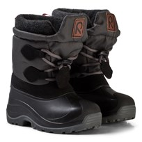 Reima Loimu Winter Boots Black Black