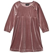 Petit by Sofie Schnoor Velour Dress Faded Purple Faded Purple