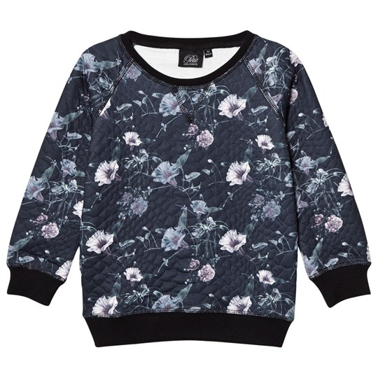 Petit by Sofie Schnoor Sweater Black Floral Black