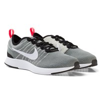 NIKE Dualtone Racer Junior Shoe Grey BLACK/WHITE-PALE GREY