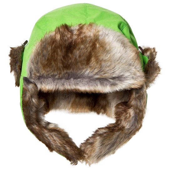 Isbjörn Of Sweden Squirrel Winter Cap Green Green