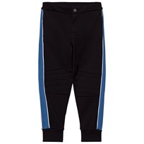 Dolce & Gabbana Black Applique Badges Sweat Pants N0000