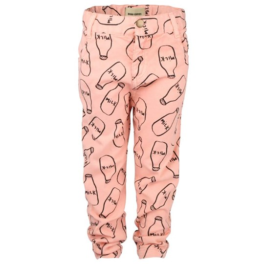 Bobo Choses Coloured Denim Trousers Milk Pink