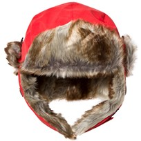 Isbjörn Of Sweden Squirrel Winter Cap Red Rød
